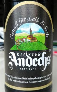 Отзыв о пиве Kloster Andechs weissbier hell