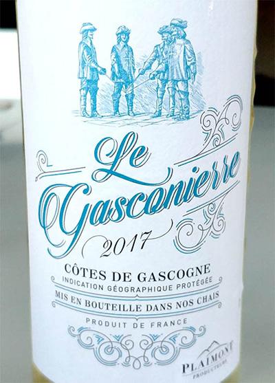 Отзыв о вине Le Gasconierre blanc 2017