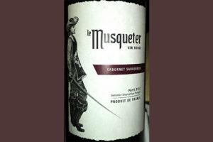Отзыв о вине Le Muscueter cabernet sauvignon 2016