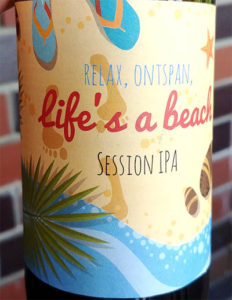Отзыв о пиве Life's a Beach session IPA