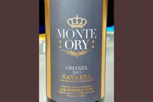 Отзыв о вине Monte Ory crianza 2013