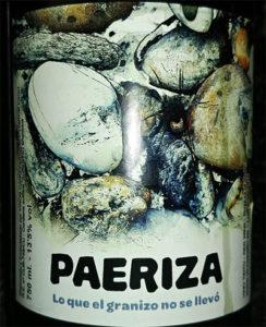 Отзыв о вине Paeriza tinto 2016