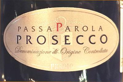 Отзыв об игристом вине Pradio Passa Parola prosecco 2016