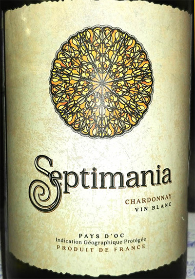 Отзыв о вине Septimania chardonnay 2016