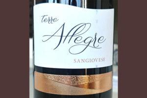 Отзыв о вине Terre Allegre sangiovese 2017