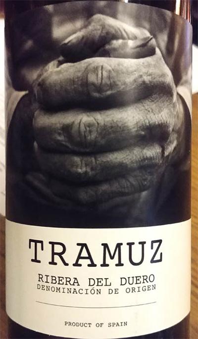Отзыв о вине Tramuz ribera del Duero 2016