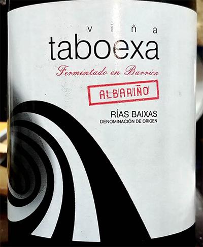 Отзыв о вине Vina Taboexa albarinho 2011