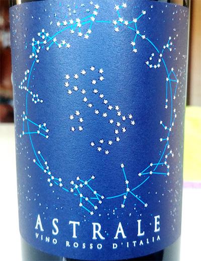Отзыв о вине Astrale vino rosso 2017