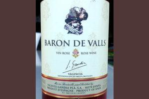 Отзыв о вине Baron de Valls vino rosado 2016