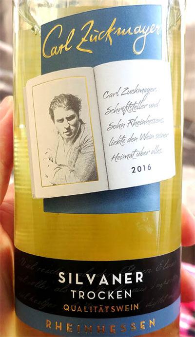 Отзыв о вине Carl Zuckmeyer Silvaner trocken 2016