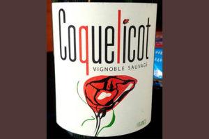Отзыв о вине Coquelicot vignoble sauvage rouge 2016