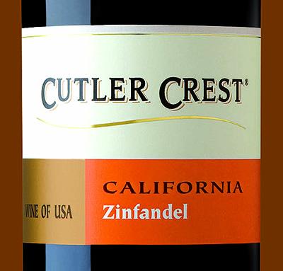 Отзыв о вине Cutler Crest zinfandel 2015