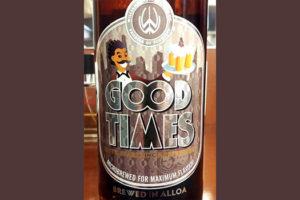 Отзыв о пиве Good Times ale