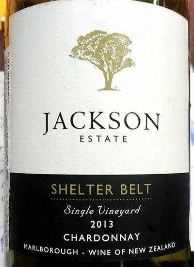 Отзыв о вине Jackson estate Shelter Belt Chardonnay 2013