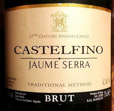 Отзыв об игристом вине Jaume Serra Castelfino Cava brut