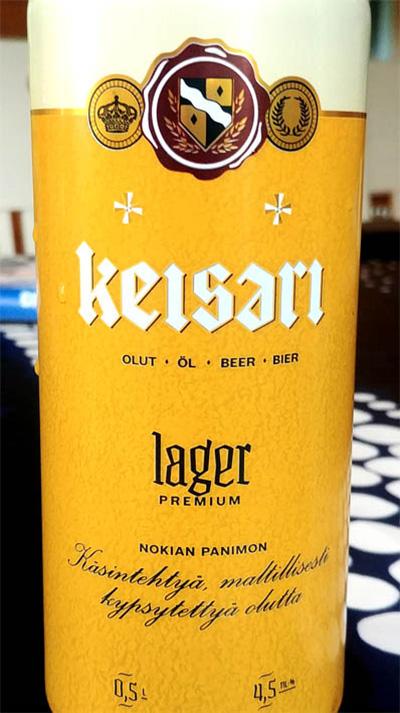 Отзыв о пиве Keisari lager premium
