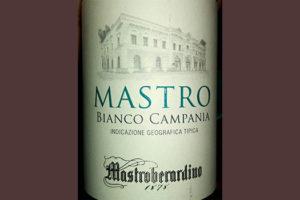 Отзыв о вине Mastroberardino Mastro Bianco Campania 2015
