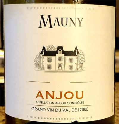 Отзыв о вине Mauny Anjou blanc 2016
