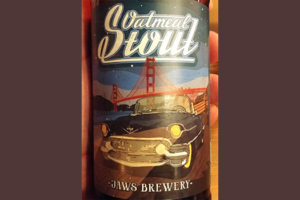 Отзыв о пиве Oatmeal Stout Jaws brewery