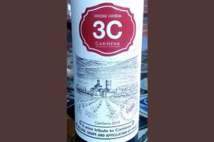 Отзыв о вине 3C Carinena 2015