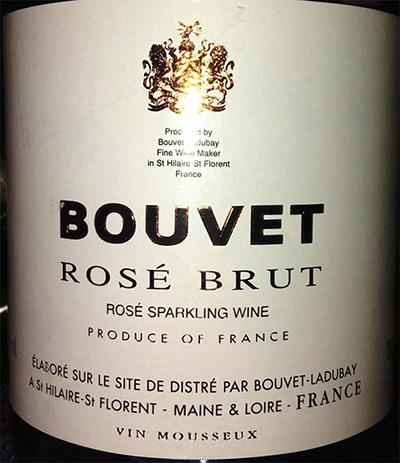 Отзыв об игристом вине Bouvet rose brut 2015