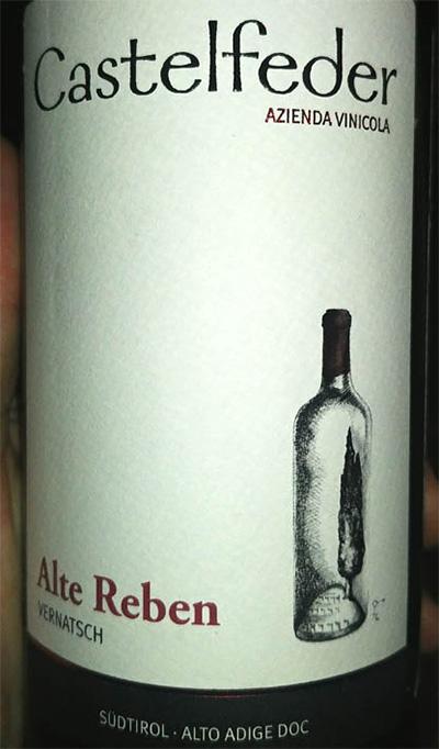 Отзыв о вине Castelfeder Alte Reben 2015