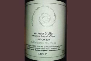 Отзыв о вине Delfino della Marchesa bianco 2015