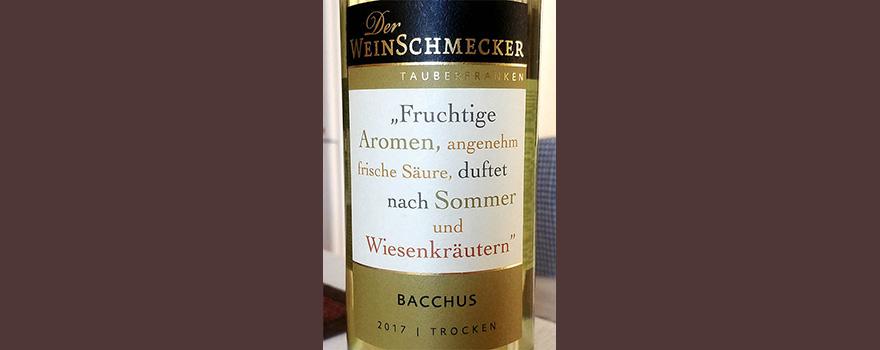 Отзыв о вине Der WeinSchmecker Bacchus trocken 2017
