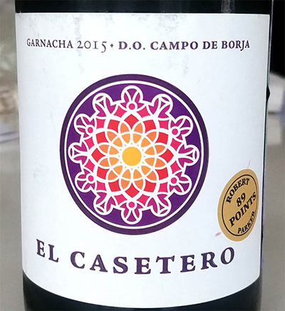 Отзыв о вине El Castero Garnacha 2015