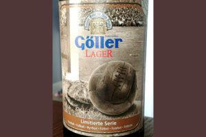Отзыв о пиве Goller Lager limitierte Serie