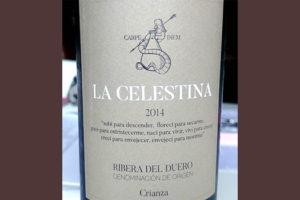 Отзыв о вине La Celestina crianza 2014