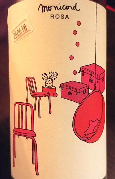 Отзыв о вине Monicord rosa 2016