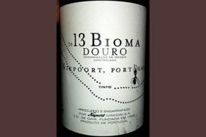 Отзыв о вине Niepoort 2013 Bioma Douro tinto