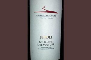 Отзыв о вине Pipoli Aglianico del Vulture 2016