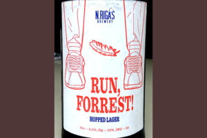 Отзыв о пиве Run, Forrest! hopped lager