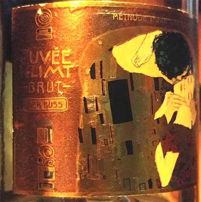 Отзыв об игристом вине Schlumberger Cuvee Klimt Der Kiss brut 2015