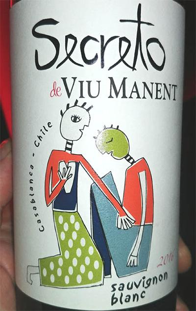 Отзыв о вине Secreto de Viu Manent sauvignon blanc 2016