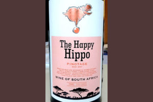 Отзыв о вине The Happy Hippo Pinotage 2017