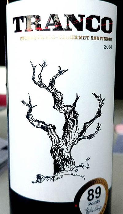 Отзыв о вине Tranco Monastrell Cabernet sauvignon 2014
