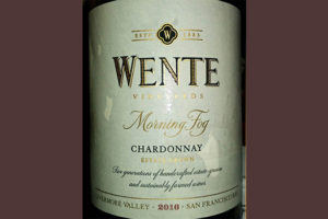 Отзыв о вине Wente Morning Fog Chardonnay 2016