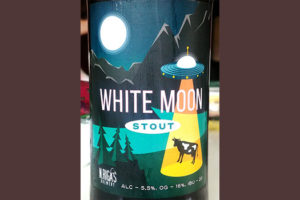Отзыв о пиве White Moon Stout