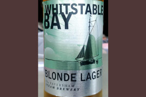 Отзыв о пиве Whitstable Bay Blonde Lager