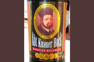 Отзыв о пиве Abt Knauer Bock dunkles bockbier