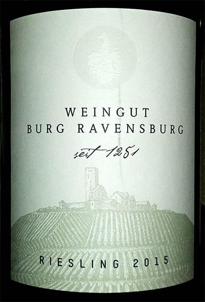 Отзыв о вине Berg Ravensburg Riesling 2015