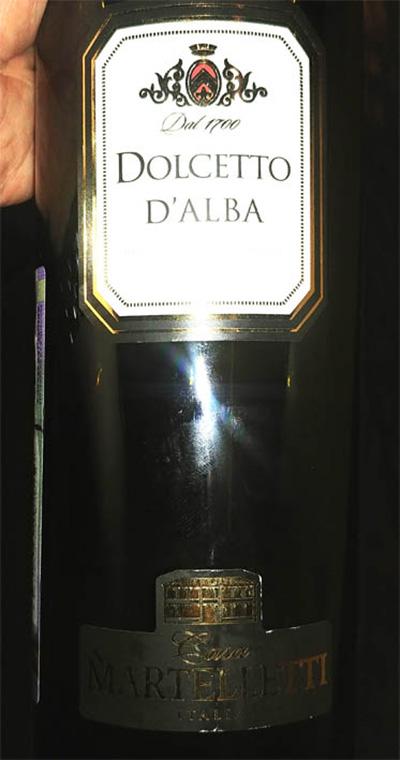 Отзыв о вине Casa Martelli Dolcetto d'Alba 2014