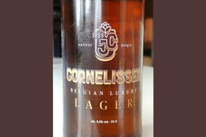 Отзыв о пиве Cornelissen belgian luxury lager