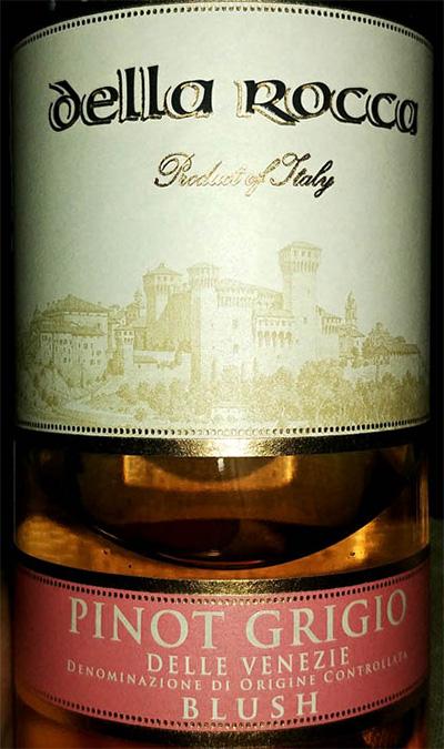 Отзыв о вине Della Roca Pinor Grigio rosato 2017