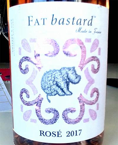 Отзыв о вине Fat Bastard rose 2017