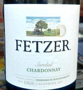 Отзыв о вине Fetzer Chardonnay sundial 2015