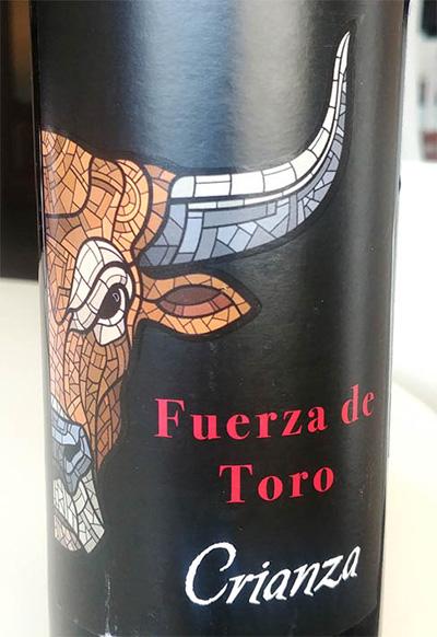 Отзыв о вине Fuerza de Toro crianza 2014